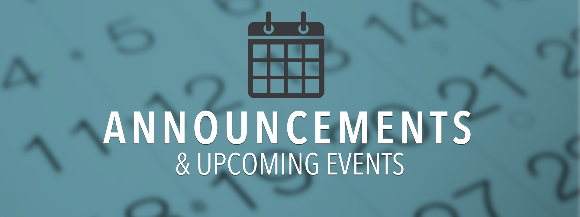 ANNOUNCEMENTS | Free Reformed Church of Oxford County